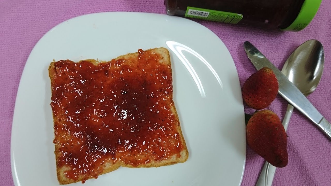 Malayalam Recipe of Homemade Easy and Tasty Strawberry Jam - YouTube