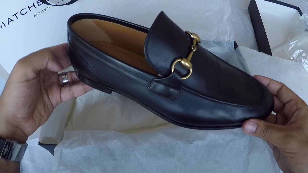 Unboxing Mens Gucci Jordaan Loafer , YouTube