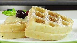 Бельгийские вафли  в электровафельнице GF-020 Waffle Pro(Бельгийские вафли без лактозы с заварным кремом. Рецепт приготовления и ингредиенты: http://www.videocooking.ru/retsepty/dese..., 2015-05-12T14:00:01.000Z)
