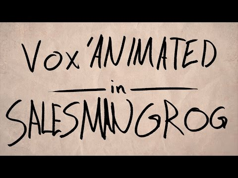 Vox'Animated - Salesman Grog