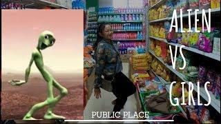 Nepalese GIRL vs Alien Dance | Dame Tu Cosita Dance Challenge 2018