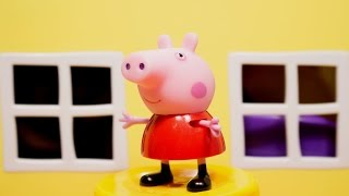 Мультфильмы для детей Домик Пэпы. Про Свинку Пеппу и ее братика Джорджа на русском Peppa Pig
