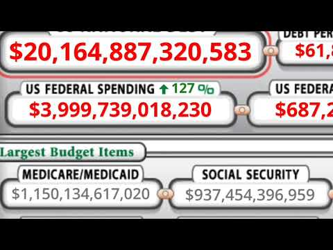 20 Trillion Dollar National Debt! Soon We'll See Exodus from The Dollar and New Economic Collapse