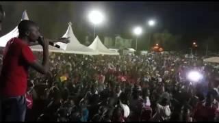 Hype Man and Mc Jeff Kuria at Ihura Stadium Murang'a County