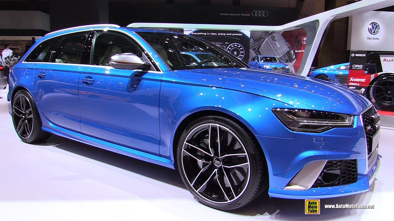 2016 audi rs6 avant exterior and interior walkaround 2015 tokyo motor show youtube. Black Bedroom Furniture Sets. Home Design Ideas