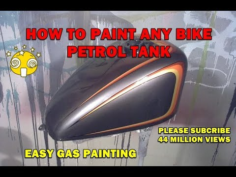 HOW TO PAINT BIKE | SPRAY PAINT