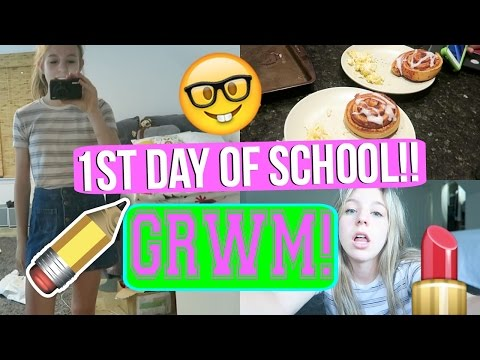 First Day Of School Special!!   GRWM FIRST DAY OF 11TH GRADE!!