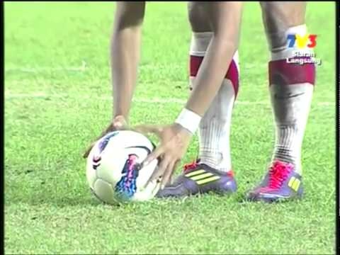 MALAYSIA vs INDONESIA SEA Games 2011 ALL GOALS 5-4 GOLD Final