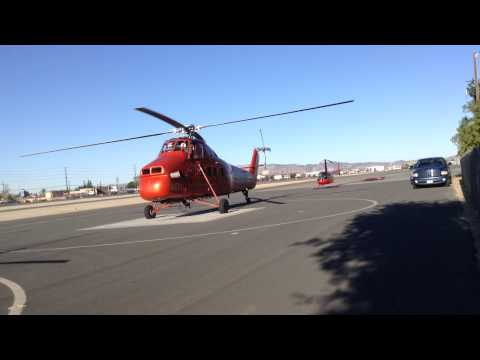Summit Helicopter's S-58T Departs Whiteman