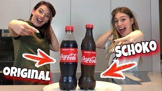 SCHOKO ART CHALLENGE - Cola Flasche aus Schokolade 😍