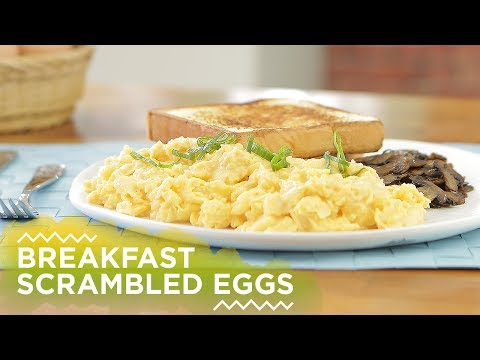 Resep Breakfast Scrambled Eggs | YUDA BUSTARA
