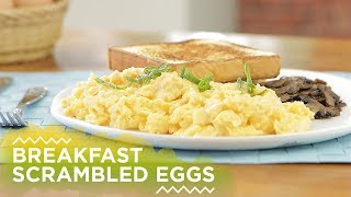 Resep Breakfast Scrambled Eggs | YUDA BUSTARA