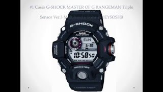 Top 10 Best Casio Watch Reviews - Tough G-Shock Black Watches for Men