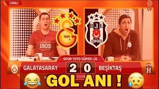 Galatasaray Beşiktaş 2 0 Gol Sevinçleri Efsane GS TV 05 05 2019