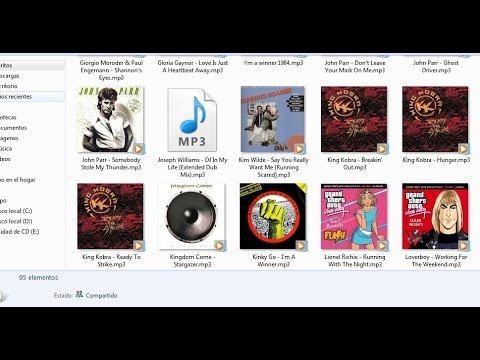 Mp3 Thumbnails on windows XP