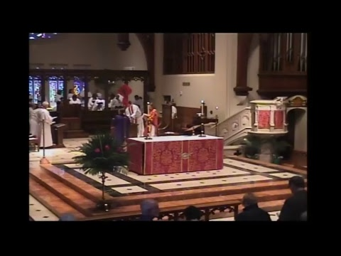 St. John's Cathedral. Palm Sunday, April 9, 2017 at 11 a.m.
