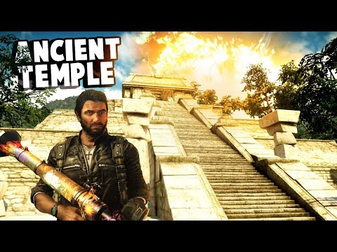 Indiana Jones finds a secret Ancient Mayan Temple in Just Cause 4!  