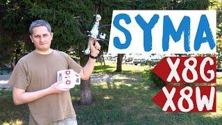 дроны Syma X8G и X8W: Full HD на борту