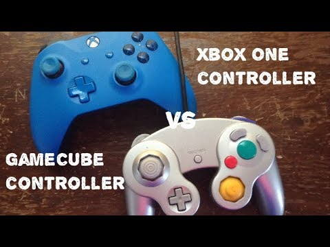 Xbox One S Controller Vs Gamecube Controller Youtube