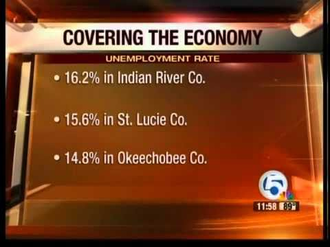 Unemployment figures in Florida