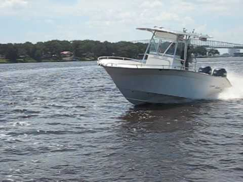 2005 Cape Horn 24 Offshore Center Console - YouTube