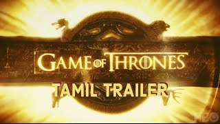 Game of Thrones | Trailer in Tamil | Mashup