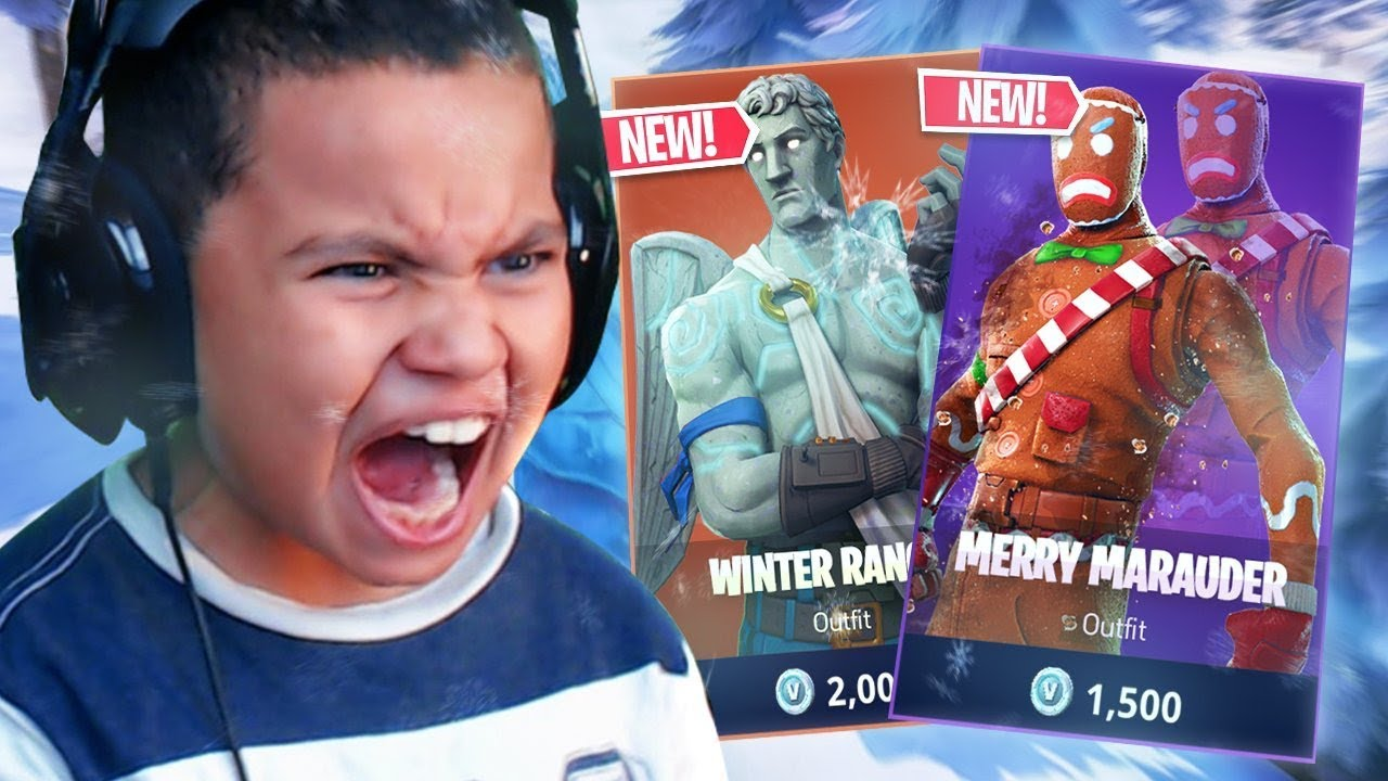 THIS IS RETURNING TO FORTNITE!! *NEW* CHRISTMAS SKINS ...