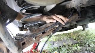 Установка новых тросиков ручного тормоза VW(, 2013-07-07T16:20:52.000Z)