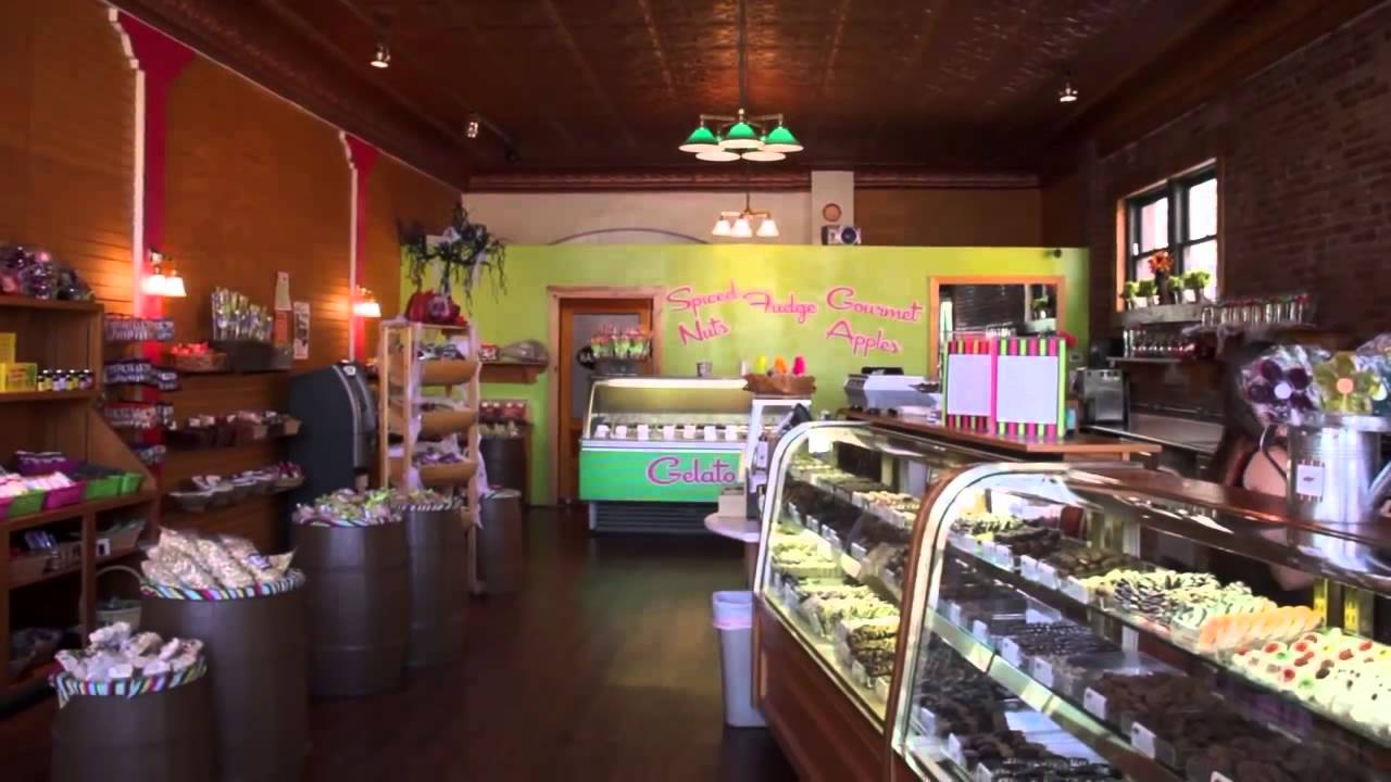 Gourmet Candy Store Franchise The Sweet Shoppe Nut