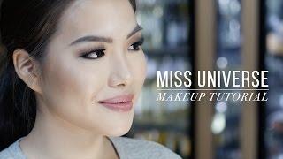 Video WATCH: Miss Universe makeup tutorial download MP3, 3GP, MP4, WEBM, AVI, FLV Agustus 2018