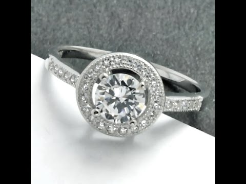 Fashion Jewelry Online, Cubic Zirconia 925 Sterling Silver Ring - Buy Direct from Manufacturer