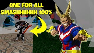 BEST SUPER Power REVIEW ONE FOR ALL (Boku No Roblox)