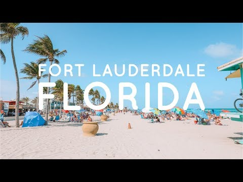 Things To See And Do When You're In Fort Lauderdale, Florida