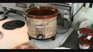 Starla's Vintage Recipes - My mother's crockpot chicken cacciatore.