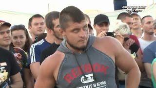 Стрелка Макс Топор против Ульяновского богатыря