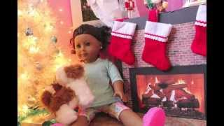 "American Girl Doll Christmas Stop Motion ""Believe""!"