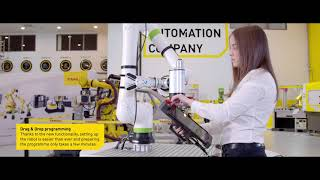 FANUC CRX series - Quick to implement and easy to program