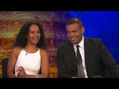 Daddy Daughter Duo Mario Van Peebles & Morgana Talk 'Superstition'