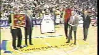 Wilt Chamberlain Kansas Jersey Retirement Ceremony thumbnail