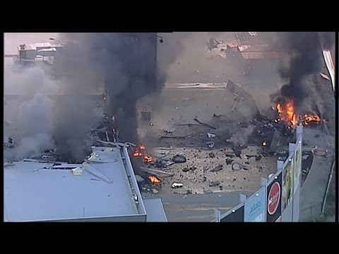 4 Americans, Pilot Killed After Plane Crashes Into Mall