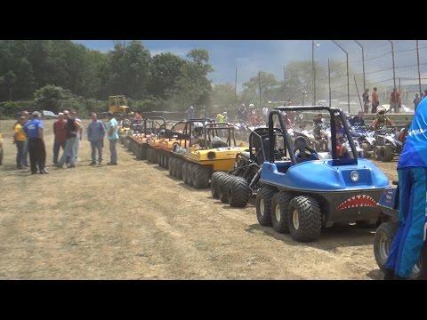 Latrobe PA 6x6 ATV Racing 2015