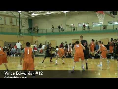 GoldandBlack.com video: Vince Edwards - King James Summer Jam 2012