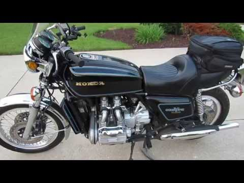 First Look at My New 1977 Honda Goldwing:  Miles of Smiles, Baby!