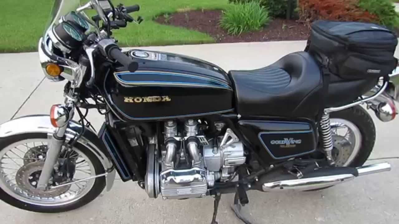 First Look at My New 1977 Honda Goldwing: Miles of Smiles ...