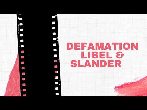How to prove a defamation case in Kenya : libel & slander-Tort Law||defamation in Kenya