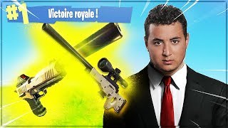 ON TENTE LE TOP1 EN MODE HITMAN ► FORTNITE CHALLENGE (ft Doigby, Akytio & Zankioh)