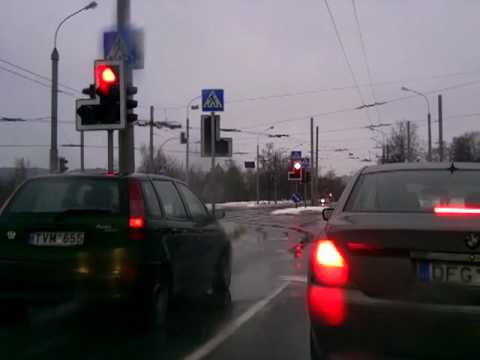 Weather in Vilnius, Lithuania, 2010-02-20, plus 1 C from Oras TV