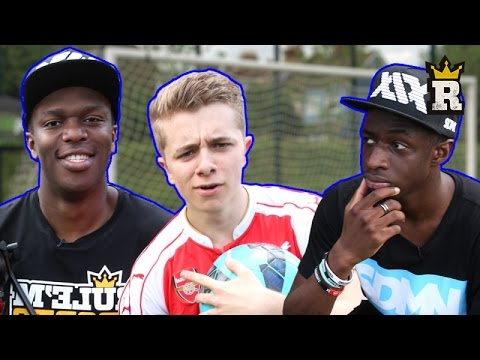 KSI TBJZL & ChrisMD – DOUBLE KEEPER CHALLENGE | Rule'm Sports