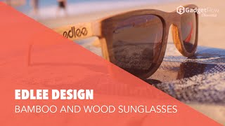 2016 Awsome Wearable Floting Sunglass Technology - Edlee Design Bamboo and Wooden Sunglasses