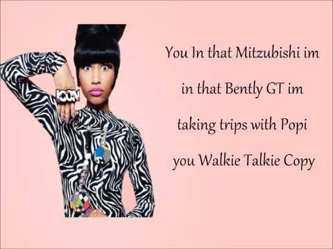 Nicki Minaj- Mi Casa Lyrics